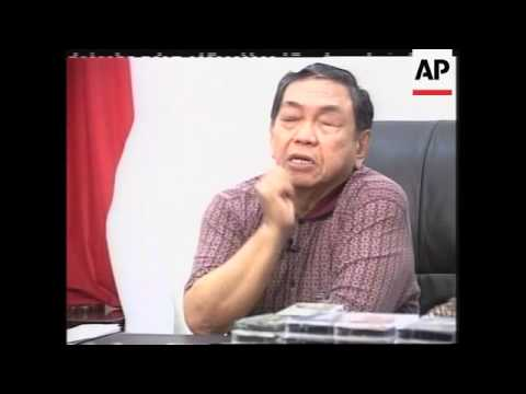Interview with former Indonesian president