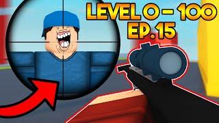 Level 0 To 100 In Arsenal! Headshot Maniac - Ep.15 Roblox