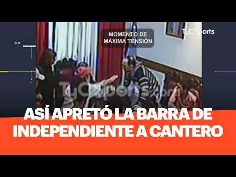 EXCLUSIVO: Así Apretó LA BARRA De INDEPENDIENTE En Su Despacho A CANTERO