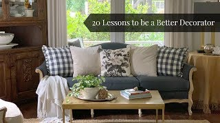 20 Lessons to be a Better Decorator