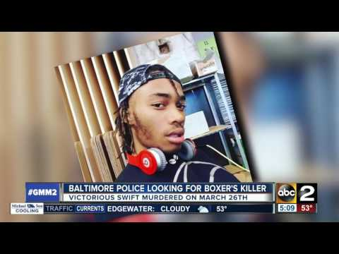 Police search for Baltimore boxer Victorious Swift