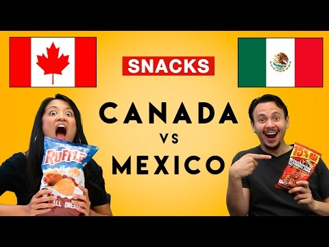 The Hungry Games: Canada Vs Mexico