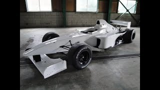 F3000 Lola B351 Mugen V8Racing engine. 素人のエンジン始動風景②