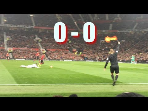Manchester United vs Crystal Palace   Premier League Old Trafford Nov 2018