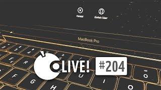 Apfeltalk LIVE! #204 - Das neue Mac Book pro