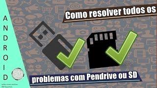 Como resolver todos os problemas com Pendrive ou Cartão SD 🔧