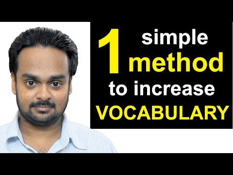 1 Simple Method to Increase Your Vocabulary | The 3R Technique | How to Improve Your Vocabulary