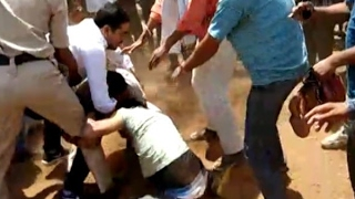 Guna, MP: Police constable thrashed by family members of BJP leader