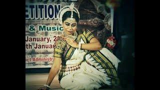 Odissi- Oriya Abhinaya-Pran Sangini Re - Cuttack Mahotsav-Jan 2018