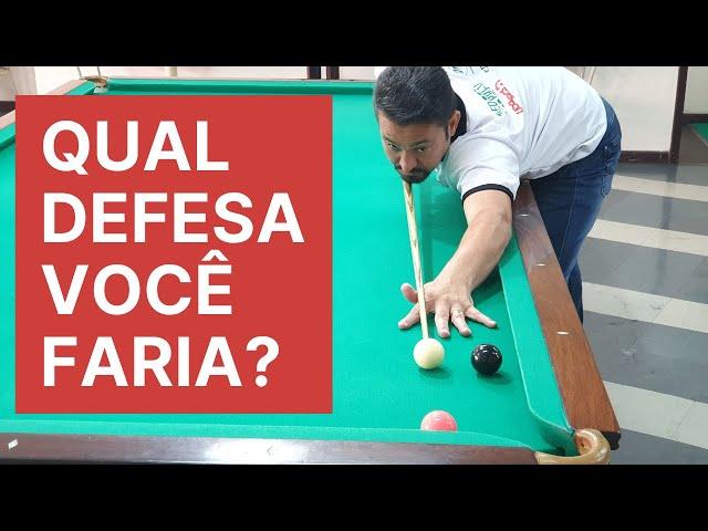 Defesas no Snooker! Aprenda a defender em diferentes regras