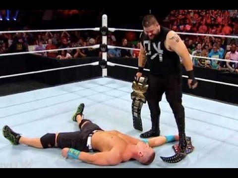 Kevin Owens John Cena