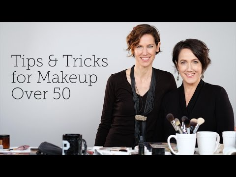 Tips & Tricks for Makeup Over 50