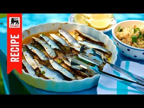 Sardines farcies aux herbes fraiches
