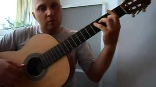 Уроки гитары Мелодия из игры Stalker