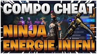 BUILD CHEAT NINJA INFINITE ENERGY! - HELP FOR BIEN FORTNITE SAUVER THE WORLD