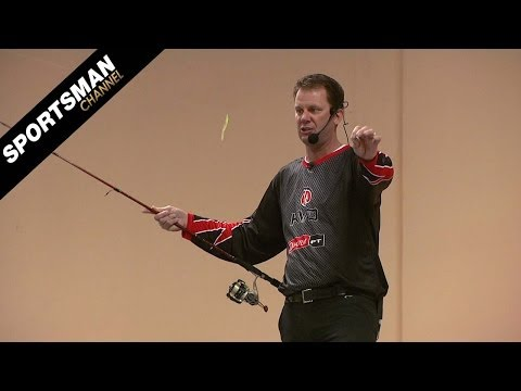 Kevin VanDam Spring Fishing Tips: Finesse Techniques