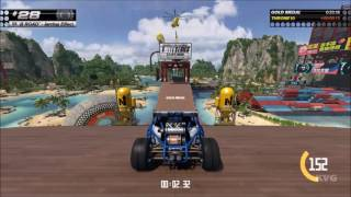 TrackMania Turbo - Rollercoaster Lagoon (White/Green/Blue/Red/Black Series) All Gold Medals (HD)