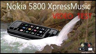 Nokia 5800 XpressMusic VideoTest & Видео тест(Видео съемка показывающая качество видео снятое на камеру смартфона Nokia 5800 XpressMusic.Камера 5 мегапикселей..., 2014-06-08T12:57:01.000Z)