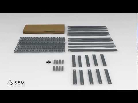 Sem Household Essentials Opbergrek.Storage Rack Opbergrek