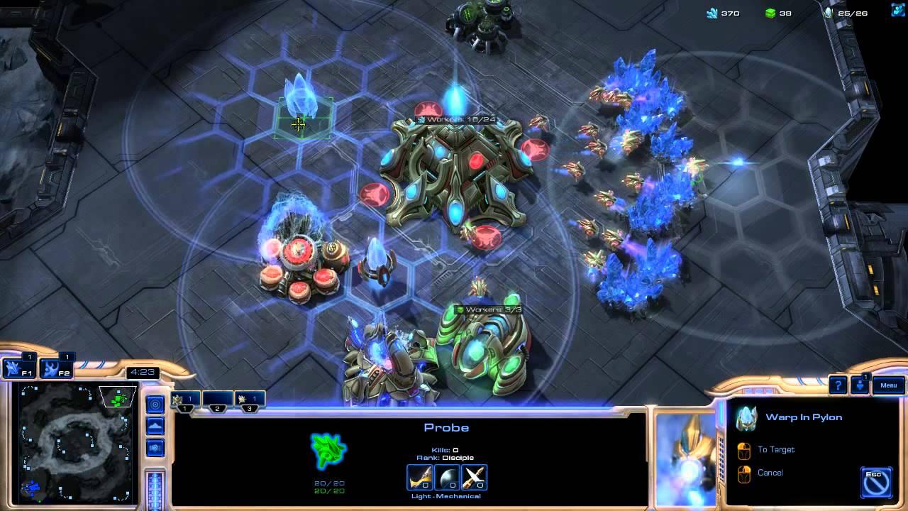starcraft mérkőzés vs ai