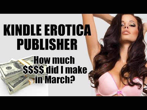 How Much Money Did I Make Publishing Erotica On Kindle