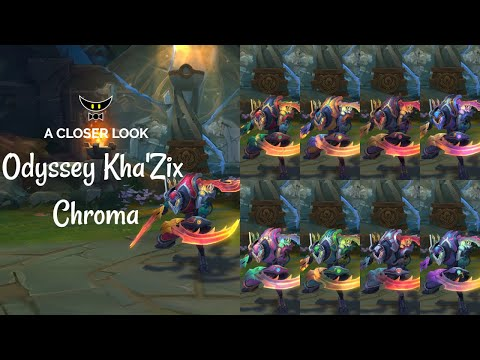 Odyssey Kha'Zix Chromas