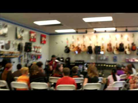Mark Wood - Music and Arts special in-store appearance in Tucson, Arizona!