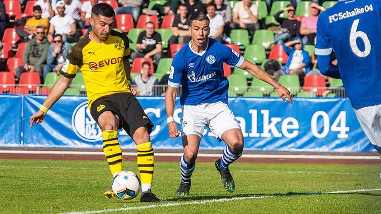 FC Schalke 04 - Borussia Dortmund 2:2 | U19-Halbfinale um die Deutsche Meisterschaft | Re-LIVE