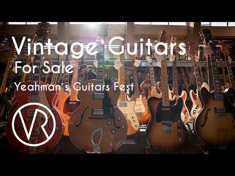 Vintage Guitars For Sale / Yeahman´s Guitars Fest  / VintageandRare.com