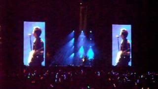 Wang Lee Hom in concert (Music Man)- Fan cam(2)
