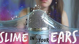ASMR SLIME IN YOUR EARS AGAIN