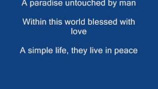 Two Worlds - Phil Collins Lyrics [HQ]