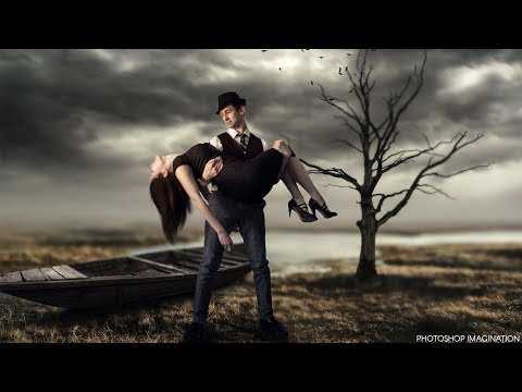 Rescue Woman | Fantasy Photo Manipulation in Photoshop