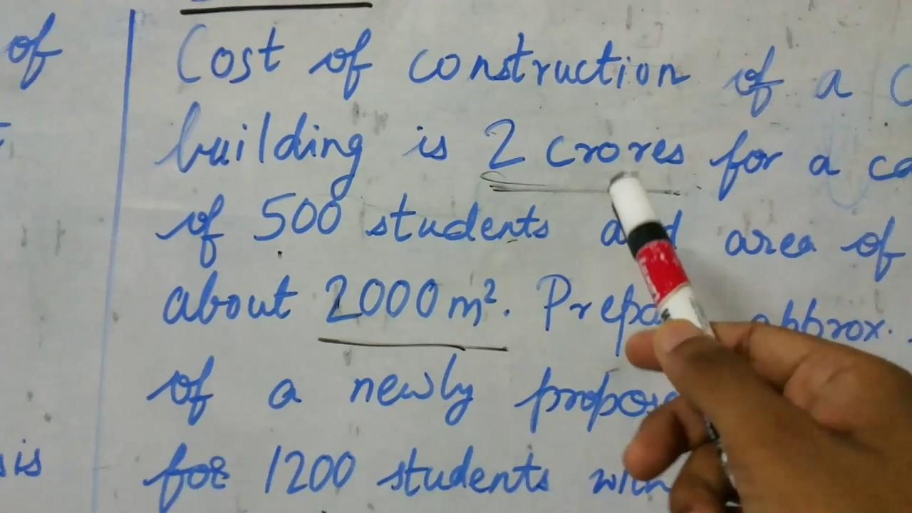 Plinth area rate method-1 (Estimation & costing)-Civil Engg