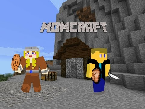 (Minecraft PE) Momcraft #2 Our Little Cabin w/Quiltmaster