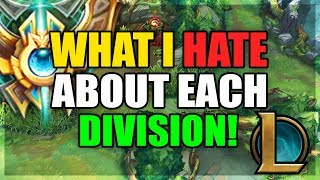 Baixar What I HATE About Each ELO Tier! (League of Legends)