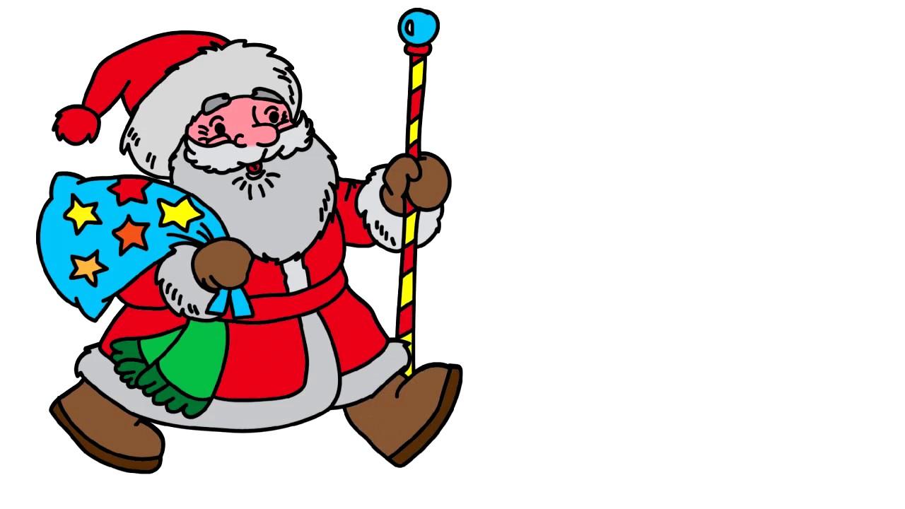 Дед мороз нарисованный картинки из мультиков, картинки