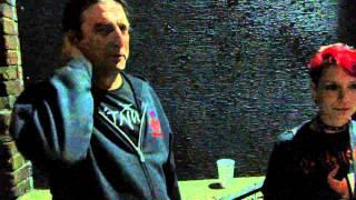 Dez Cadena of Black Flag / Misfits, explains how Ron Reyes broke a brick over his head! June, 2012