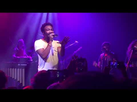 Childish Gambino @ Irving Plaza 01-27-2018