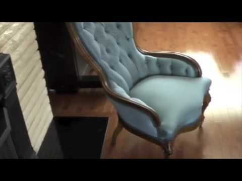 Charmant Diamond Tufted Antique   YouTube