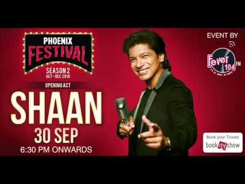 Shaan 'Tanha Dil, Return To Romance' Concert LIVE at Phoenix Marketcity Bangalore