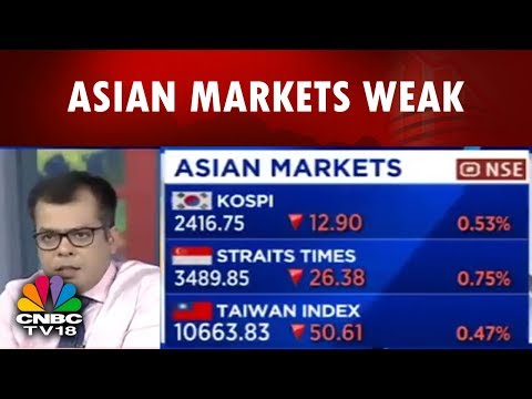 Asian Markets Weak | Ashwani Gujral On Nifty | Bazaar Open Exchange | CNBC TV18
