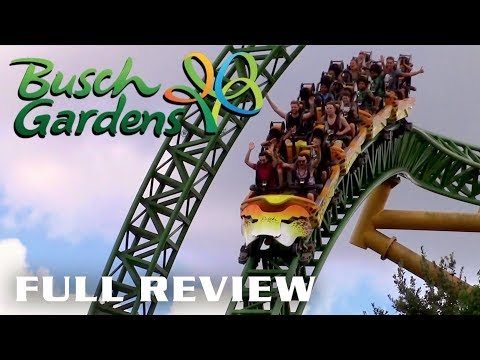 Busch Gardens Tampa Review Tampa Bay, Florida