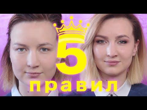 Как покрасить глаза с нависшими веками видео