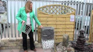 Gardening Tips: Using Gabion Baskets