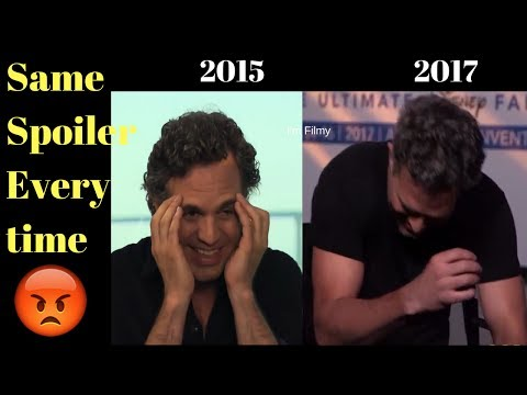 Mark Ruffalo Did not actually Reveal the Secrets of Avengers Infinty War - Here is the Proof - 2017