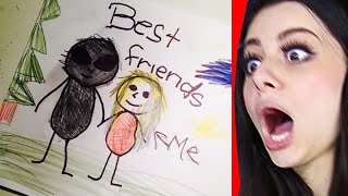 Download CREEPIEST KIDS DRAWINGS Mp3 and Videos