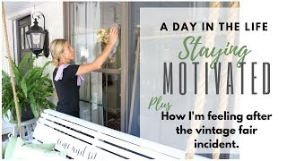 Staying Motivated ~ A Day in the Life ~ Food Prep ~ Cleaning Windows with Norwex Cloths