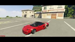 GTA5FiveM | Velocity Drift Track Server - Usui Downhill Honda NSX Turbo