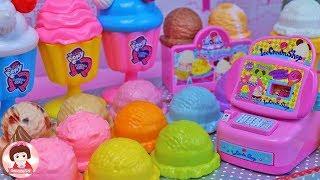 ของเล่นญี่ปุ่น ไอติมเปลี่ยนสี ของเล่นหม้อข้าวหม้อแกง Play Doh Playset